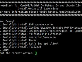 阿里云PHP环境--如何在Oneinstack环境内删除或添加组件
